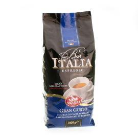 Saquella Bar Italia Gran Gusto intensiv aromatisch 1 Kg ganze Bohne