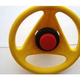 Big Bobby Car Originalersatzlenkrad Classic mit Hupe gelb
