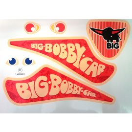 Big Bobby Car Stickers Limited 2018 rot