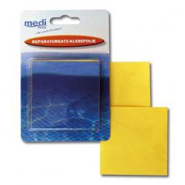 Medipool Reparatursatz Klebefolie (Abziehfolie) Poolreparatur - selbstklebende Reparatur-Flicken von mediPOOL - für alle aufblasbaren Plastikgegenstände - Unterwasser-Reparaturen im Pool