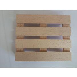 Big Palette Holz ca. 12 x10 cm für Big Power Worker oder einfach so zum Spielen (Spielzeug)