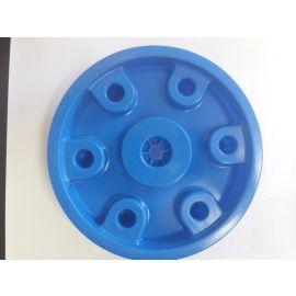 Big Felge hinten für Big Traktoren Hinterradblende  (Spielzeug - Ersatzteil - Zubehör) blau