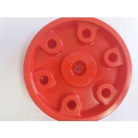 Big Felge hinten für Big Traktoren Hinterradblende  (Spielzeug - Ersatzteil - Zubehör) rot Claas