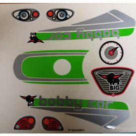 Big Bobby Car Stickers Aufklebersatz New-Bobby-Car RB 1 oder für andere