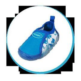 Freds Aqua Schuhe in blau gr. 24 hoher Tragekomfort Innenschuhlänge 150 mm