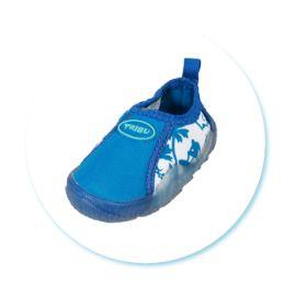 Freds Aqua Schuhe in blau gr. 26 hoher Tragekomfort Innenschuhlänge 163 mm