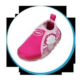 Freds Aqua Schuhe in pink gr. 25 hoher Tragekomfort Innenschuhlänge 156 mm