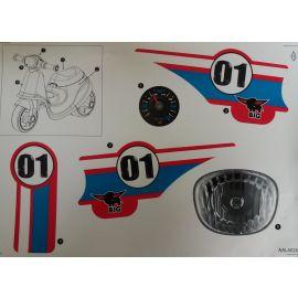 Big Stickersatz für Big Scooter Roller