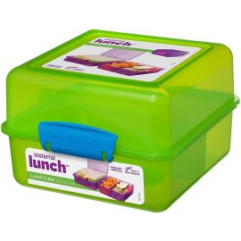 Sistema 31735 Lunch-Box 145 x 150 mm 1,4 L grün