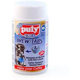 Puly Caff PLUS Brüh-Tabletten 100 x 1g Reinigungstabletten für Kaffeemaschinen, Aufbrühkannen, Pressstempelkannen, Glaskannen, Karaffen, Kaffeebechern und Zubehör z.B. Siebträger und Siebe