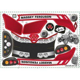 Rolly Toys Aufkleber Kid Massey Ferguson