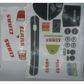 Big großer Aufklebersatz Sticker für Big Traktoren Claas