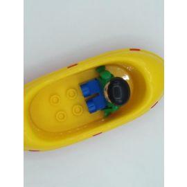 Big Boot Kanu mit Figur  für Waterplay, Wasserbahnen oder einfach zum Spielen