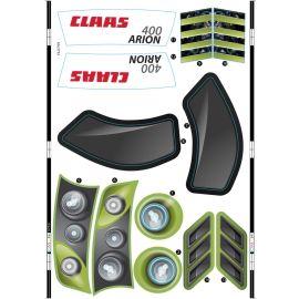 Smoby Ersatzteil AAL3753 Claas Sticker Aufkleber für Smoby Traktor