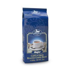 Saquella Espresso Major Bar delikat, anhaltende Crema 1 Kg ganze Bohne