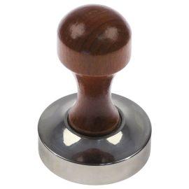 Kaffeepresser Tamper Edelstahl D1 Durchmesser 57,5 mm, 360 gramm