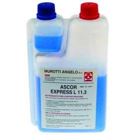 Ascor Express Reinigung von Milchaufschäumern,  Milchschläuchen und Sahnespendern 1 Liter
