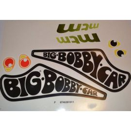 Big Bobby Car Stickers Aufklebersatz Classic Racer