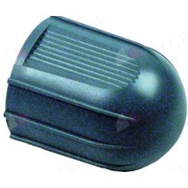 Drehgriff ø 46 mm schwarz für PAVONI für Hahn