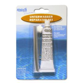 Medipool Unterwasserreparatur-Set von mediPOOL - Spezial-Unterwasserkleber (Reparatur-...