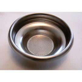 Kaffeesieb d = 68 mm Einbau d = 60,5 mm H = 24  mm f. 1 Tasse für Gaggia u.a.