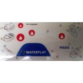 Big Stickers Aufkleberset für Big 55110 Waterplay Fire Alarm