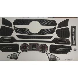 Big Stickersatz Aufkleber Bobby-AMG GT Rot (Spielzeug)