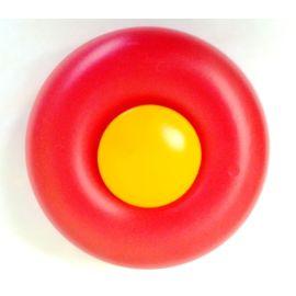 Big Vorderrad rot m. Radkappe gelb z.B. für Big Harry Mouse